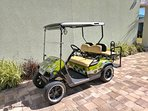 Complementary Street Legal Golf Cart included with the home for your personal use!