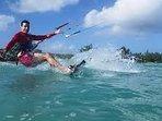 Kite Surfing 10 min. drive