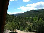Views of Taos Canyon from the upper deck!