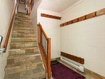Large ground floor foyer ( ski room) ideal for your storage. Please leave boots and equipment here in ski room foyer