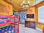 Wizards will love a spot on the twin-over-twin bunk bed.