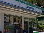 Well stocked Family Mart convenience store just 250m from villa