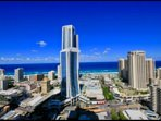 Amazing Ocean Views. Lvl 27. Free WIFI and Parking. Circle on Cavill Resort.