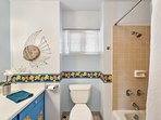 Both baths have tub/shower combos