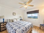 Master BR with King bed - and ocean views
