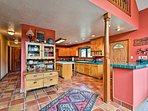 Prepare home-cooked meals in the massive fully-equipped kitchen.