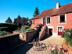 2 bedroom Villa in Marigny-le-Cahouet, Bourgogne-Franche-Comté, France : ref 555
