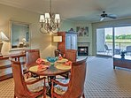 Experience beautiful Myrtle Beach from this waterfront vacation rental condo.