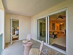 The condo features 3 private balconies for you to enjoy.