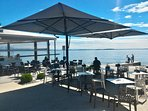 Lakeside restaurants 400 meters from Corte Ferrari