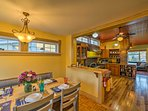 This spacious, historic vacation rental home in Red Lodge accommodates 7 guests.