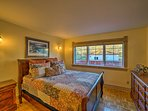 No sheep-counting needed with a queen-sized bed this comfortable!