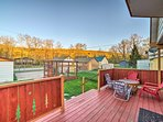 Enjoy a cool evening breeze as you sit on the generous back deck.