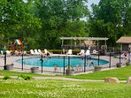 Tamarack and Mirror Lake Resort Outdoor Pool