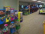 Tamarack and Mirror Lake Resort Game Room