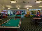Tamarack and Mirror Lake Resort Game Room 2