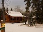 Rangeley Lake Resort Cabin Exterior