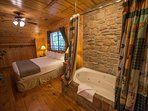 Cabins at Green Mountain Bedroom with Bath
