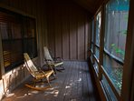 Cabins at Green Mountain Screened in Porch (2)