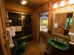 Cabins at Green Mountain Master Bathroom
