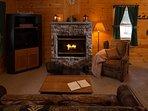 Rangeley Lake Resort Living Area