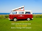Probably the best VW Campers for hire in the Great North; have you booked your holiday yet?