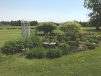Gardens on the Property