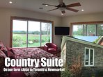 Country Suite for Couples near Toronto Newmarket