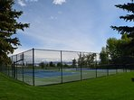 Tennis Courts/Basketball Court