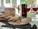 Enjoy relaxing & comfortable mealtimes in all the cottages. Lots of crockery, cutlery & glassware.
