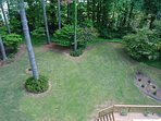 Enormous back Yard! Fenced in for safety. Gates on both sides. Relax on the deck. Kids love this!