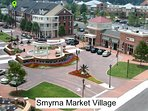Just minutes away from the heart of Smyrna where eating & relaxing are a must!