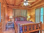 Choose from one of the 2 cozy bedrooms to retire to each night.