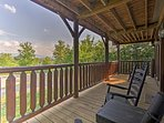 Watch the sun rise or set each day from the spacious deck.