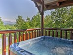 Explore the great Smoky Mountains from this Sevierville vacation rental cabin.