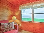 Enjoy unobstructed views of the river - just steps away!