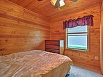 Each bedroom has a window so you can wake up to the sunshine!