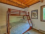 Kids will love calling the bunk room their home base.