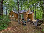 Enjoy a peaceful environment at this White Mountain vacation rental home.