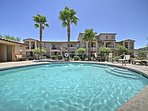 Escape the worries of everyday life at this resort vacation rental in Mesa!