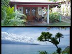 Aircon house with private beach