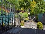 Beautiful garden to relax in