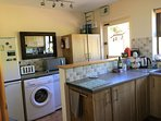 Well equipped kitchen with full range of appliances. Stable door opens onto rear garden.
