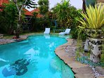 swimmingpool at Villa Shantitara
