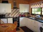 Holly Lodge Kitchen/Dining Area