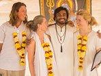 Shiva Shakti Yoga School Patnem Beach Goa. Offers Residential Yoga  teacher course.