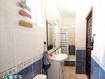 ensuite bathroom of master bedroom with shower