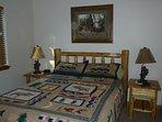 Main level bedroom (queen bed)