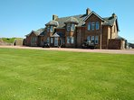 St. Andrew House, KA9 1UH, Ayrshire, next to Royal Troon Golf Course 9th Green