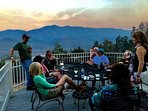 After a great day of hiking or canoeing, the deck is the perfect place for drinks and dinner.